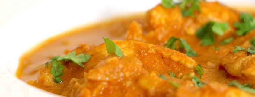 butter chicken ou poulet indien