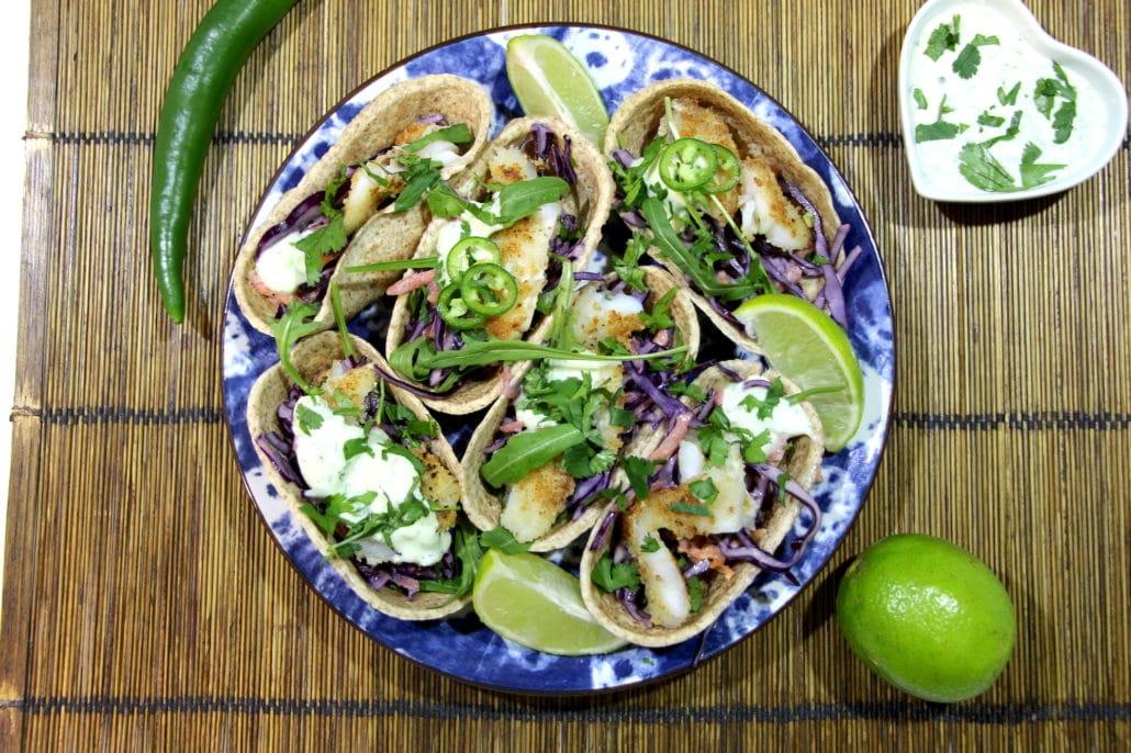 fish tacos au coleslaw