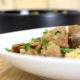 veau aux champignons et quinoa