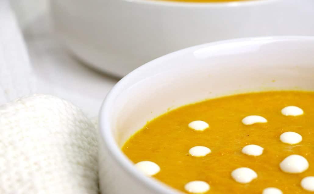 velouté carotte coco curry