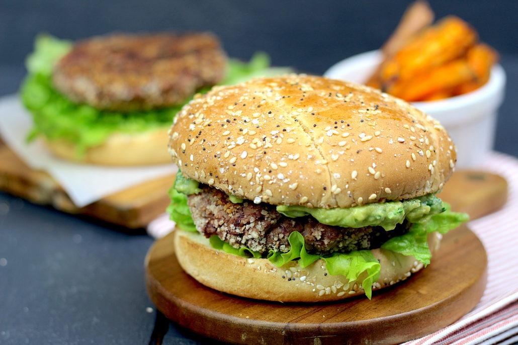 steak végétal aux haricots rouges
