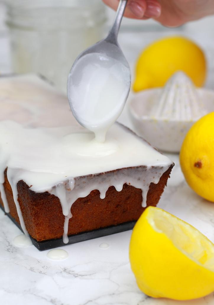 glaçage au sucre glace et citron