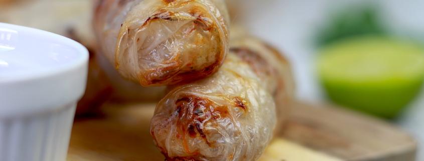 nems aux crevettes sans friture