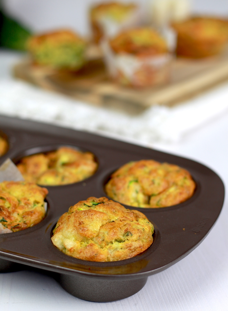 muffins salés courgette