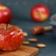 pommes rôties au four miel