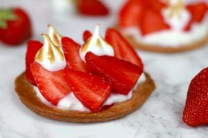 mini tartelettes fraises