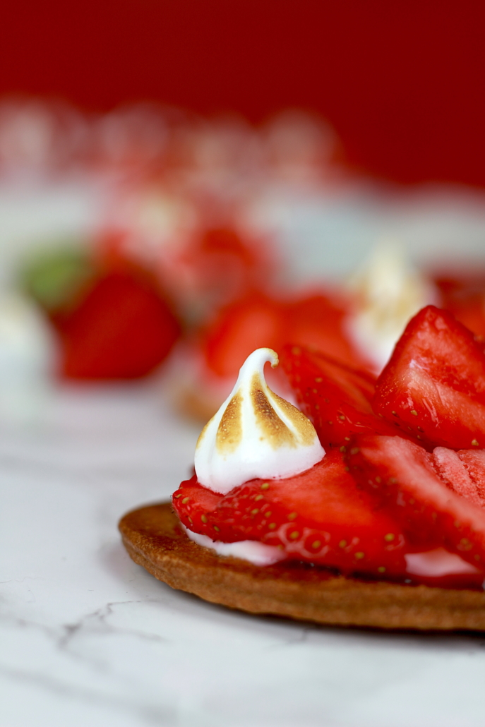dessert léger aux fraises