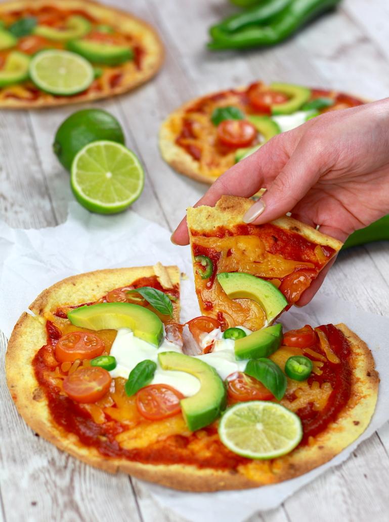 pizza légère